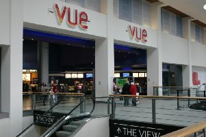 Vue cinemas across UK, including this one at Ocean Terminal in Edinburgh, will not show Blue Story following a mass brawl at a screening in Birmingham. Picture: TSPL