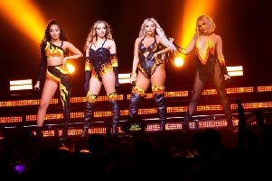 Little Mix have spent 2019 on the road with LM5. Picture: Little Mix.