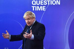 The broadcaster said it had cut a clip of Boris Johnson on the BBC's Question Time leaders' special on Friday November 22 for a shorter package to be shown on Saturday's lunchtime bulletin.