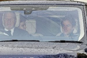 Beatrice was pictured leaving Andrew's Berkshire home with her partner after spending some time with her beleaguered father, who has stepped back from public duties after the backlash from his Newsnight appearance.