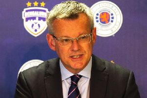 Rangers managing director Stewart Robertson. Picture: SNS