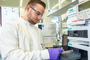 Life sciences is one of Scotland's key growth industries. Picture: Peter Devlin