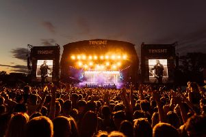 The TRNSMT music festival attracts a 150,000-strong crowd to Glasgow Green each summer.