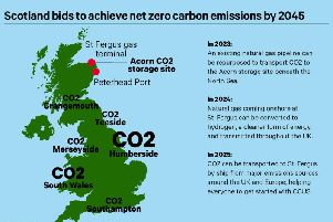 A new charter has been signed to take forward carbon capture, utilisation and storage technology in Scotland, which has been named as a key tool in achieving the country's 2045 net-zero climate target