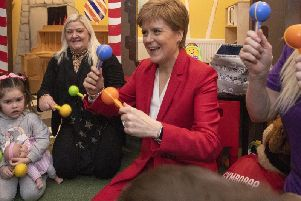 Nicola Sturgeon has dismissed claims from the Tories that there should not be a second referendum on Scottish independence until after 2050. Picture: Jane Barlow / PA Wire