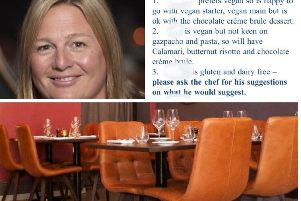 Edinburgh restaurateur hits out at diners who are killing the catering industry with 'faux' dietary requirements