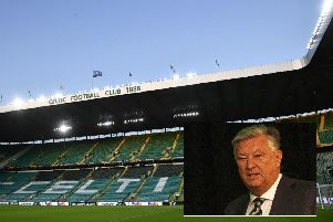 Peter Lawwell addressed Celtic fans' questions at the AGM today