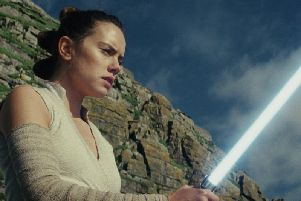 The final instalment of the nine-part saga - The Rise Of Skywalker - is due for release in UK cinemas on December 19, but for one Rowans Hospice patient time is of the essence. Picture: AP