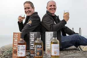 Donald Mackenzie (left) and Mackay Smith have wholly owned Islay Ales since last year. Picture: Contributed