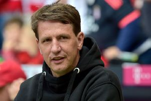 Former Hannover and Barnsley boss Daniel Stendel is a leading contender for the Hearts job. Picture: AFP via Getty Images