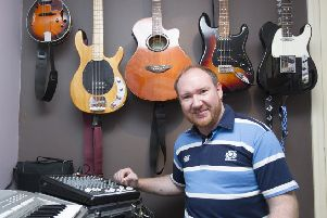 Kelso musician Gary Cleghorn is releasing a single in aid of the My Name5 Doddie Foundation.