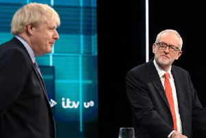 Prime Minister Boris Johnson and Labour leader Jeremy Corbyn