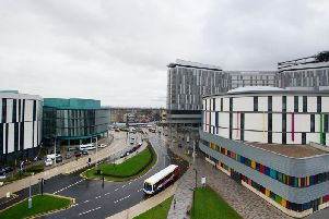 The Queen Elizabeth hospital in Glasgow has been at the centre of concerns over the water supply