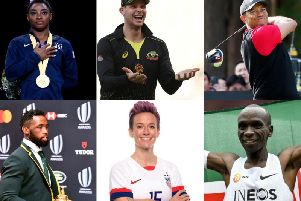 The six nominees for the top award