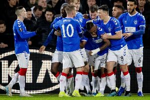 Rangers earned a 2-2 draw