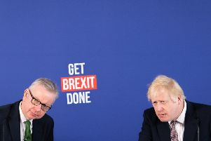 Michael Gove and Boris Johnson urged Brexit supporters to vote Conservative at the next election