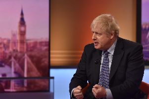 Boris Johnson on BBC Andrew Marr Show this morning.