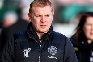 Celtic manager Neil Lennon. Picture: SNS