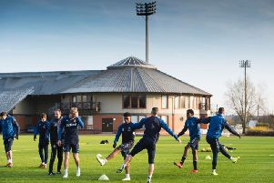 The player has reportedly been put through his paces at the Hummel Training Centre. Picture: SNS