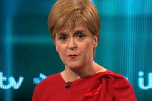 Nicola Sturgeon faced criticism over her domestic record