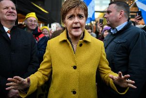 First Minister Nicola Sturgeon. Picture: JPIMedia