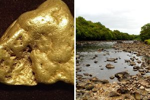 The unnamed searcher made the discovery in a Scottish river and it is thought to be worth 80,000.Pictures: Flickr/James St John/https://creativecommons.org/licenses/by/2.0/