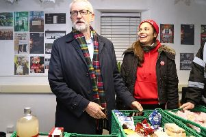 """In an interview with ITV, Mr Corbyn was askedwhether he sat down to watch the Queen's annual message, he said: """"It's on in the morning, usually we have it on."""""""