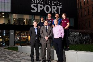 Glasgow Warriors managing director announces a new partnership with Strathclyde University. Picture: Gary Hutchison/SNS Group/SRU