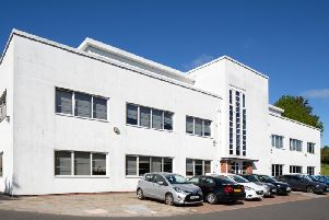 The building is fully let to funeral plan provider Golden Charter, which occupies the site as the head office for its UK operations. Picture: McAteer Photography