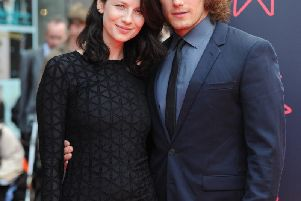 The show's stars Catriona Balfe and Sam Heughan have helped play a huge part.