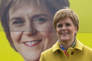 Nicola Sturgeon is desperate for indyref2 before her time as leader is up (PIcture: Jane Barlow/PA)