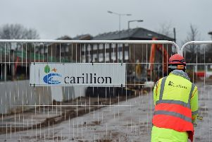 Carillion went into compulsory liquidation with liabilities of almost �7 billion. Picture: PA