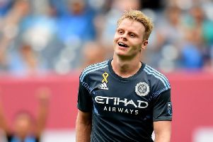 Gary Mackay-Steven in action for New York City FC