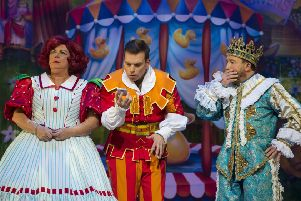 Elaine C Smith is magnificent as Dame Trot, ably assisted by Johnny Mac and Jonathan Watson