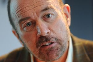 Sir Brian Souter is to retire as chairman at the end of this month. Picture: Robert Perry