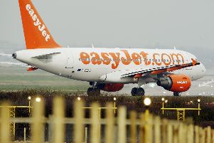 EasyJet is to launch Scotland's first route to Gibraltar among five new routes from Edinburgh and Glasgow next year.