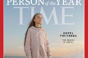 Thunberg, 16, has become the face of the youth climate movement, drawing large crowds with her appearances at protests and conferences over the past year and a half.