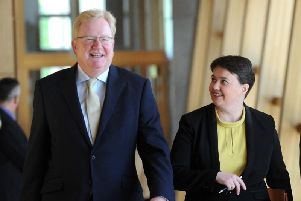 Jackson Carlaw and Ruth Davidson have said that unless the SNP has two million votes for it tomorrow, there will be no mandate for a second independence referendum.