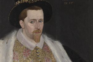 This painting of James VI, created by an unknown artist in 1602, will be shown as part of the 2020 exhibition.