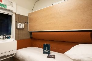 "A ""Club"" room in the new Caledonian Sleeper fleet"