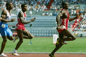 Ben Johnson stunned a world-class field of sprinters, including Carl Lewis and Linford Christie, with a performance at the 1986 Seoul Olympics that raised eyebrows even before his positive drugs test