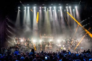 Pete Tong and the 65-piece The Heritage Orchestra. Picture: RMV/Shutterstock