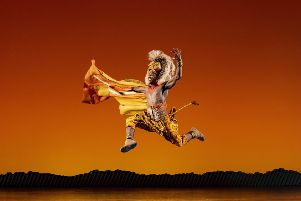 Dashaun Young as Simba is part of a talented, committed cast