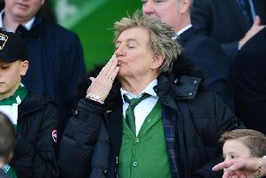 Sir Rod Stewart has provoked anger among the Celtic faithful after he tweeted his congratulations to Boris Johnson on his election victory. Picture: Getty Images