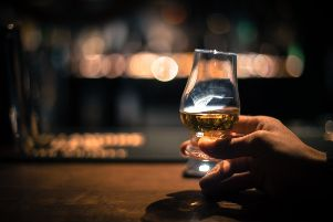 The US imposed a 25 per cent duty on Scotch whisky last October. Picture: Getty Images