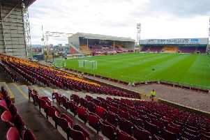 Fir Park will host Motherwell's game with Rangers today. Picture: SNS