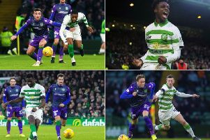 Celtic restored their lead at the top of the Scottish Premiership table with a 2-0 win over Hibs