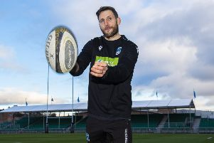 Tommy Seymour is now set to complete at least a full decade as a Glasgow Warriors player, having signed a one-year contract extension. Picture: Ross MacDonald/SNS/SRU