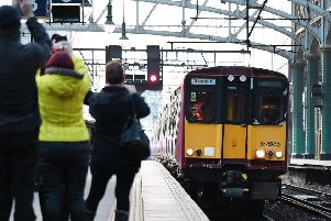 ScotRail chiefs on a farewell tour for one of its retiring train fleets were said to be unperturbed by the impending announcement. Picture: John Devlin