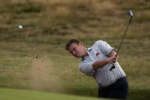 Stuart Wilson in action during the Walker Cup at Ganton in 2003. Picture: Ian Walton/Getty